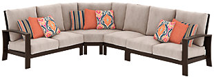 Cordova Reef 4-Piece Outdoor Seating Set, , rollover