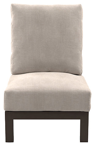Cordova Reef Armless Chair with Cushion, , rollover