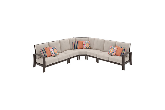 Cordova Reef 5-Piece Outdoor Seating Set, , large