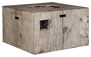 Peachstone Fire Pit Table, , large