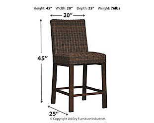 Paradise Trail Bar Stool (Set of 2), , large
