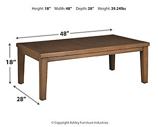 Paradise Trail Coffee Table, , large