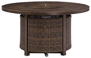 Paradise Trail Fire Pit Table, , large