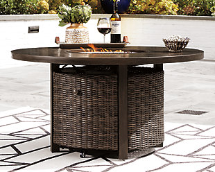 Paradise Trail Fire Pit Table, , rollover