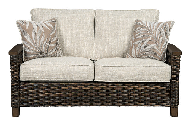 Paradise Trail Loveseat with Cushion, , large
