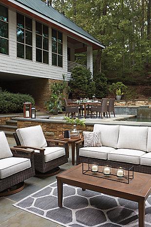 Paradise Trail 5-Piece Outdoor Conversation Set, , large