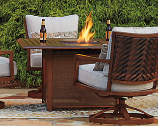 Zoranne Fire Pit Table, , rollover