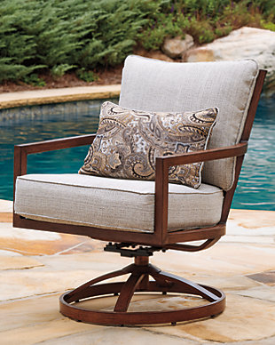 Zoranne Swivel Lounge Chair (Set of 2), , large