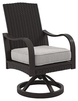 Marsh Creek Swivel Chair with Cushion (Set of 2), , large