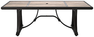 Marsh Creek Dining Table with Umbrella Option, , large