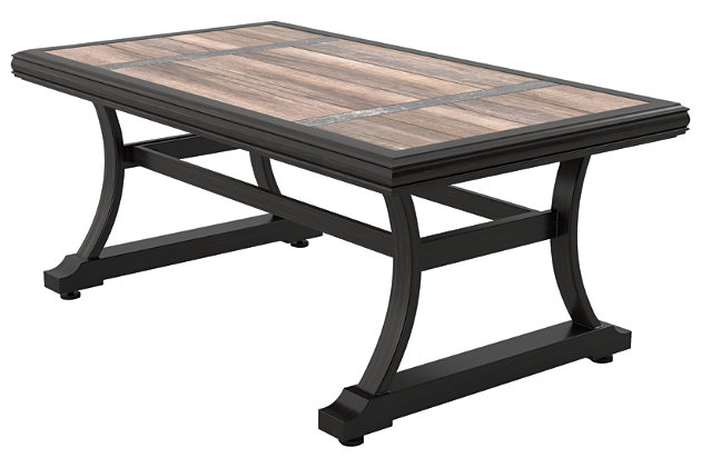 Marsh Creek Rectangular Cocktail Table | Ashley Furniture HomeStore