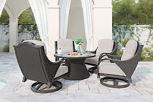 Marsh Creek 5-Piece Outdoor Conversation Set, , rollover