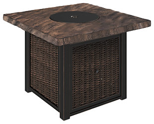 Alta Grande Square Fire Pit Table, , rollover