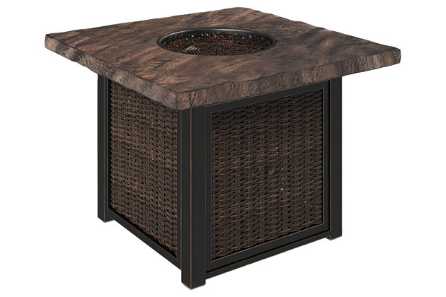 Alta Grande Fire Pit Table, , large
