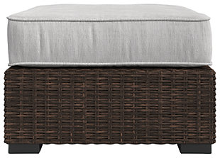 Alta Grande Ottoman with Cushion, , large