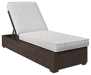 Alta Grande Chaise Lounge With Cushion, ...