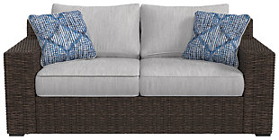 Alta Grande Loveseat with Cushion, , rollover