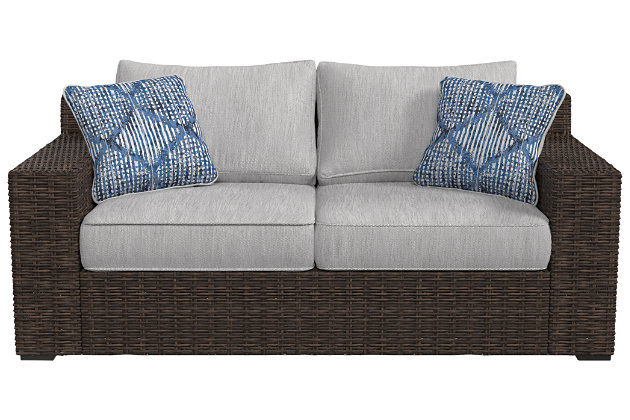 Alta Grande Loveseat with Cushion, , large
