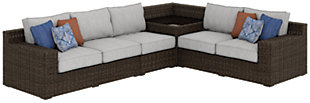 Alta Grande 4-Piece Outdoor Seating Set, , large