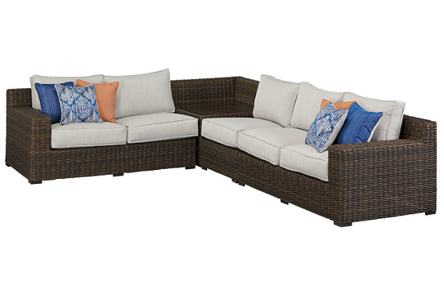 Alta Grande 4-Piece Outdoor Seating Set, , large
