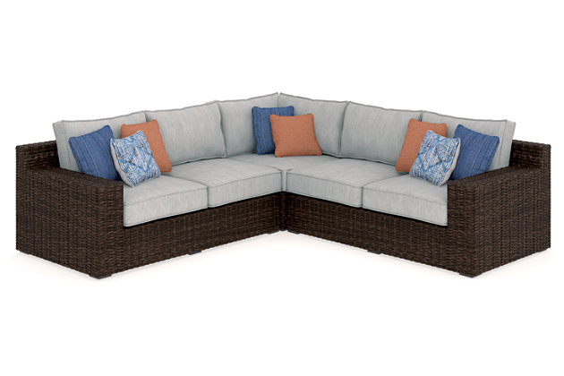 Alta Grande 3 Piece Outdoor Seating Set, , Large ...
