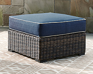 Grasson Lane Ottoman with Cushion, , rollover