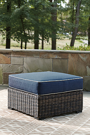 Grasson Lane Outdoor Sofa, Loveseat and Ottoman, , large