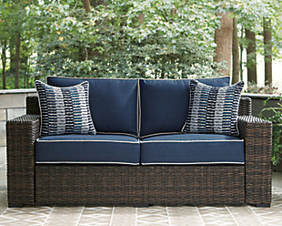 Grasson Lane Loveseat with Cushion, , rollover