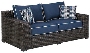 Grasson Lane Loveseat with Cushion, , large