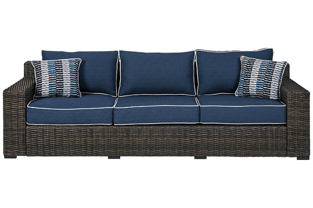 Grasson Lane Sofa with Cushion, , large