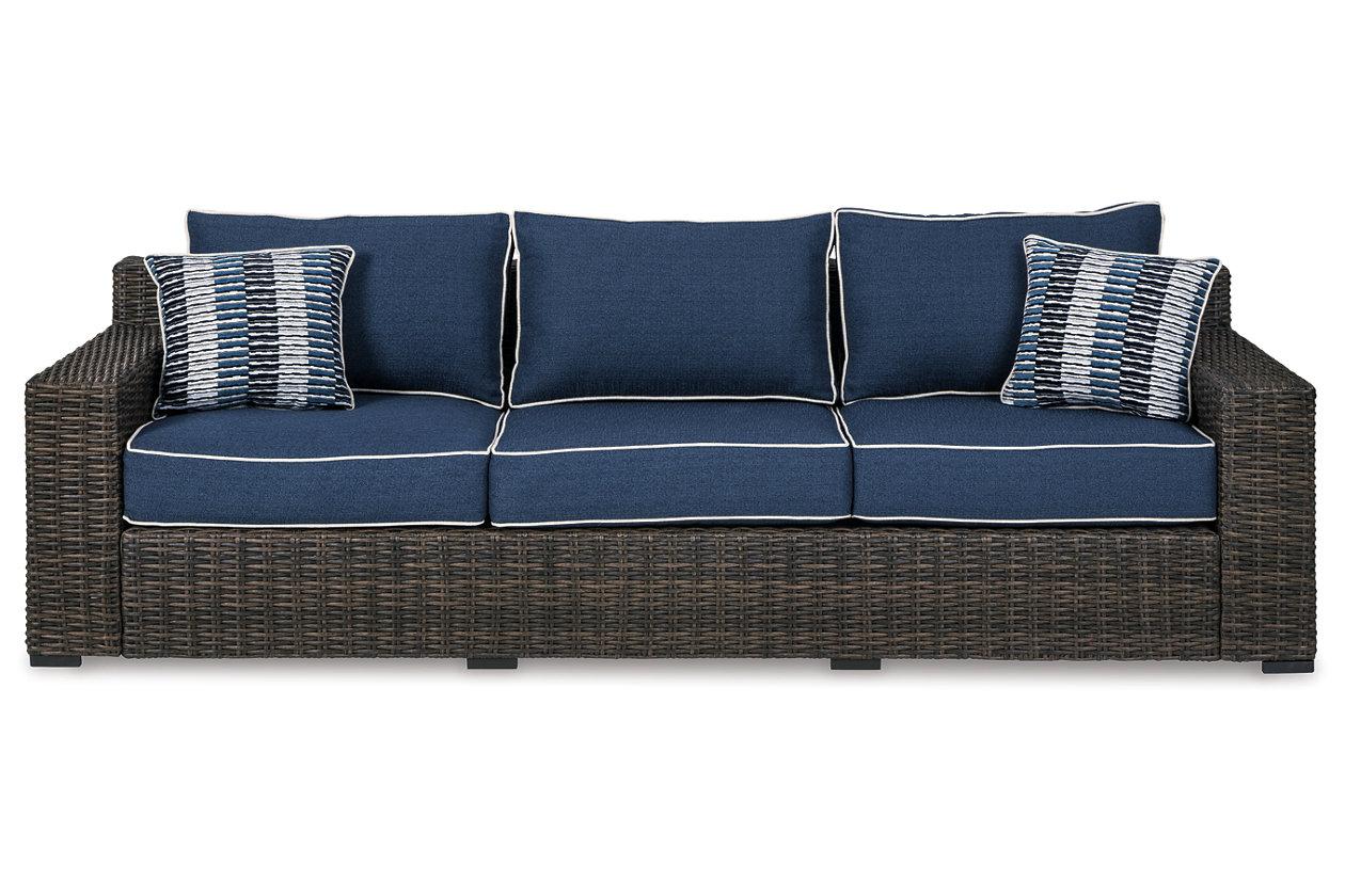 Grasson Lane Outdoor Sofa With Cushion Ashley Furniture Homestore