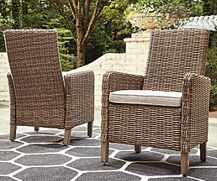 Beachcroft Arm Chair with Cushion (Set of 2), , large
