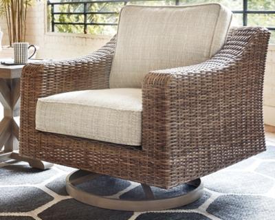 Beachcroft Swivel Lounge Chair, , large