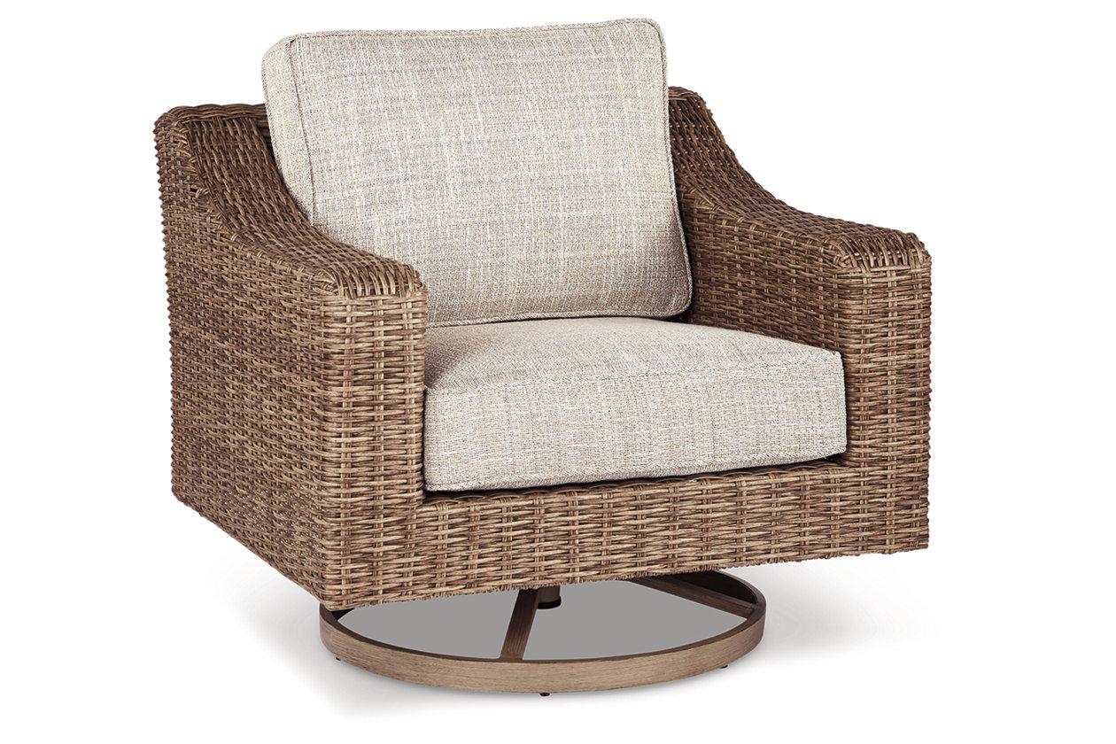 Terrific Beachcroft Swivel Lounge Chair Ashley Furniture Homestore Bralicious Painted Fabric Chair Ideas Braliciousco
