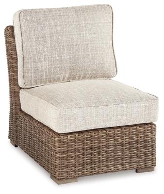 Beachcroft Armless Chair with Cushion, , large
