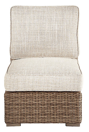 Beachcroft Armless Chair with Cushion, , rollover