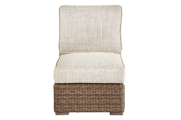 Beachcroft Armless Chair with Cushion, , large
