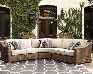 Beachcroft 3-Piece Outdoor Seating Set, , large