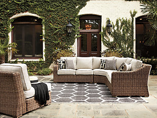 Beachcroft 5-Piece Outdoor Seating Set, , large