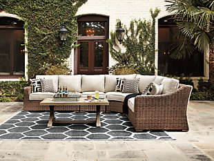 Beachcroft 4-Piece Outdoor Seating Set, , rollover