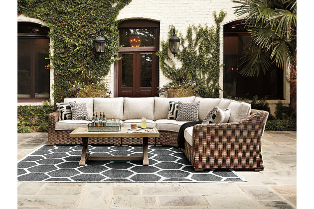 Beachcroft 4-Piece Outdoor Seating Set, , large