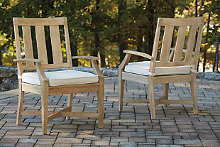 Clare View Arm Chair with Cushion (Set of 2), , rollover