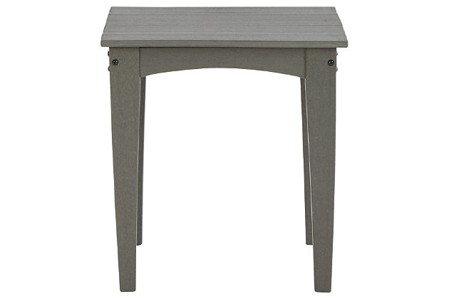 Visola Outdoor End Table, , large
