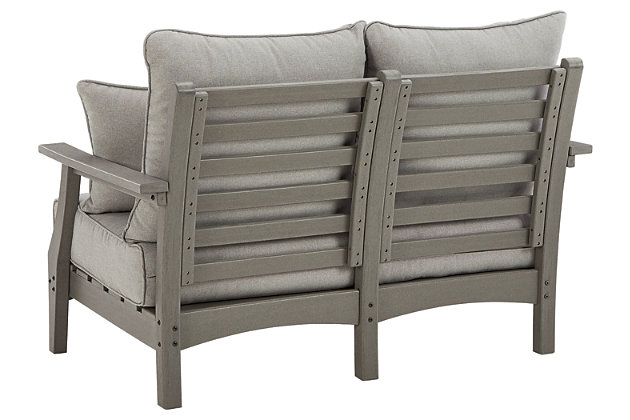 Visola Outdoor Loveseat with Cushion, , large