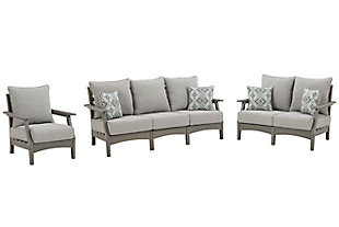 Visola Outdoor Sofa, Loveseat and Chair, , large