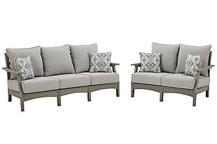 Visola Outdoor Sofa and Loveseat, , large