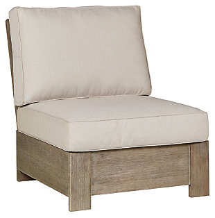 Silo Point Outdoor Armless Chair with Cushion, , large