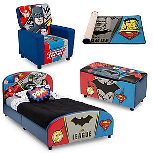 Delta Children DC Comics Justice League Bedroom Bundle, , large