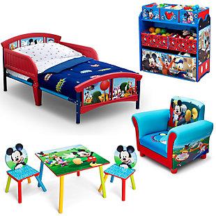 Delta Children Mickey Mouse Toddler Bedroom Bundle, , large
