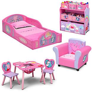 Delta Children Peppa Pig Toddler Bedroom Bundle, , large